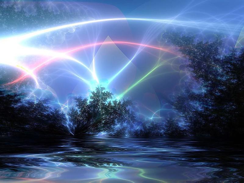 Обои природа, свет, линии, блеск, сияние картинки на рабочий стол, фото скачать бесплатно