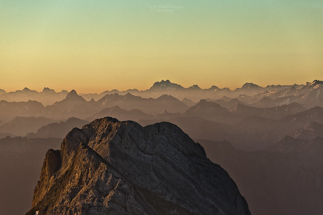 Raise your wings and fly / Altmann and Swiss Alps