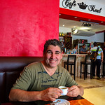 Cafecito time at Café Real in Sagua la Grande