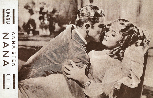 Phillips Holmes and Anna Sten in Nana (1934)