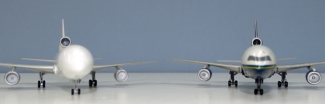 NG Models Lockheed L-1011 Tristar vs Dragon Wings Tristar