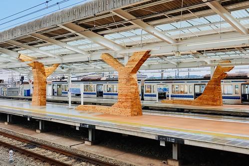 飯能駅, Hannō station, Saitama, Japan   by Ken Lee 2010