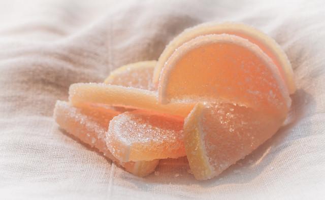 Russian candy (мармелад лимонные дольки)