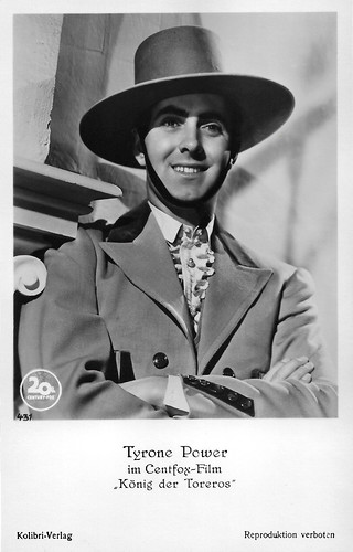 Tyrone Power in Blood and Sand (1941) | by Truus, Bob & Jan too!
