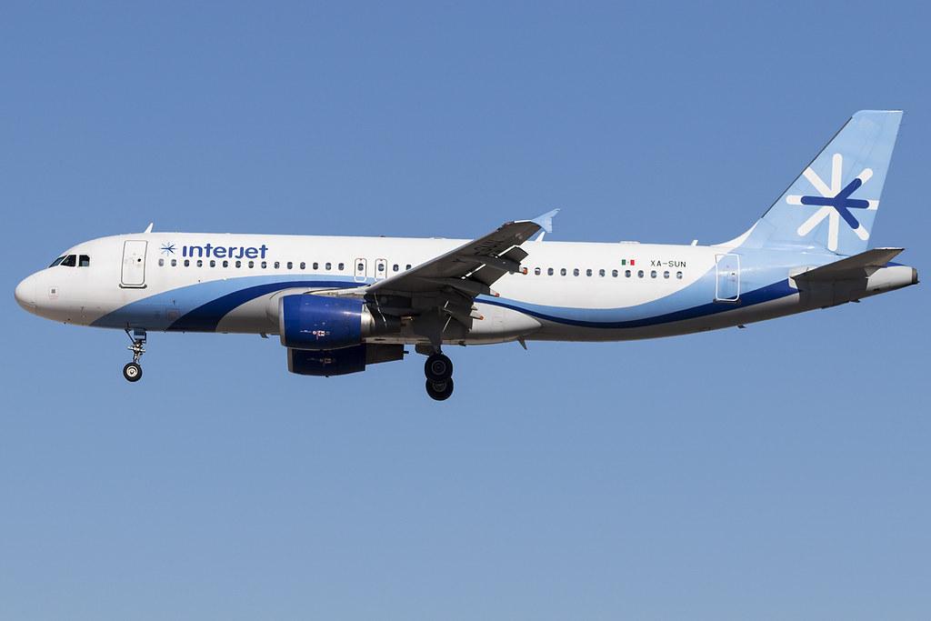 Interjet A320 XA-SUN