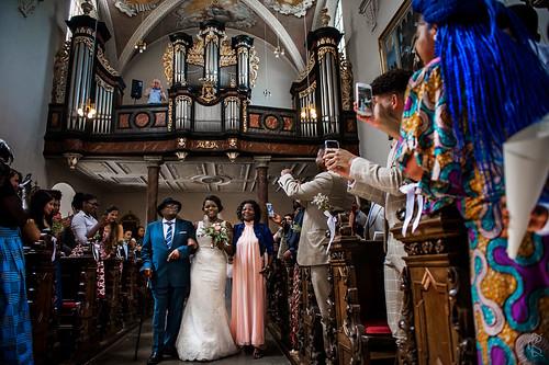 German - African wedding in Bonn