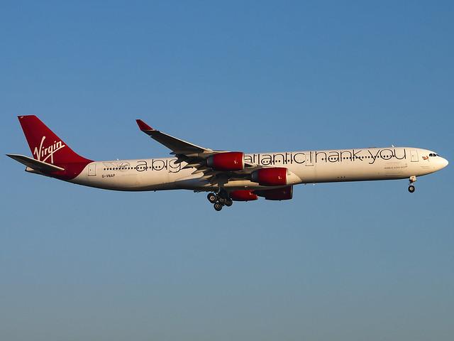 Virgin Atlantic Airways | Airbus A340-642 | G-VNAP