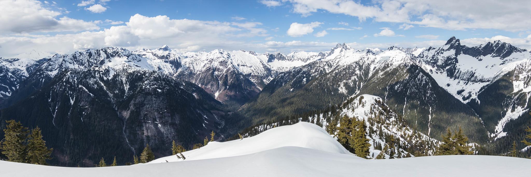 Northern panoramic view