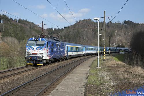 E 499 2006 ČD . Ex 142 . Bezpráví . 27.03.19.
