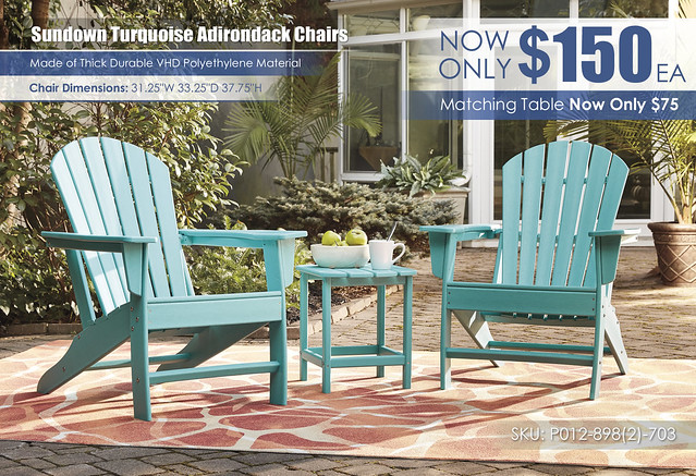 Sundown Turquoise Adirondack Chairs_wDimensions_P012-898(2)-703
