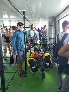 Ferry ride from Casablanca to Havana