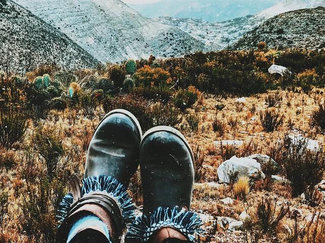 Aventuras con mis pies.