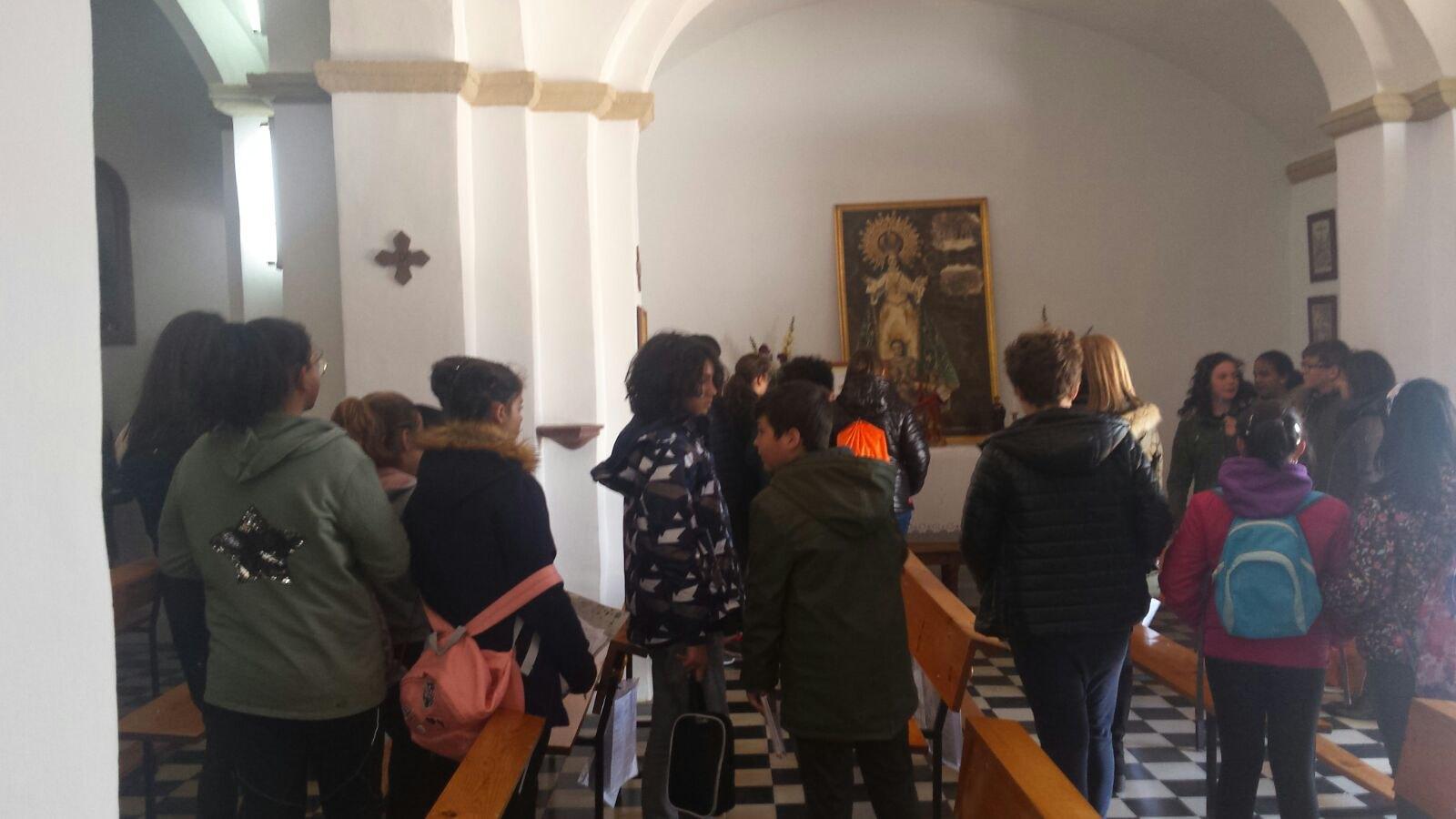 (2018-03-19) - Visita ermita alumnos Yolada-Pilar,6º, Virrey Poveda-9 de Octubre - Maria Isabel Berenquer Brotons - (09)