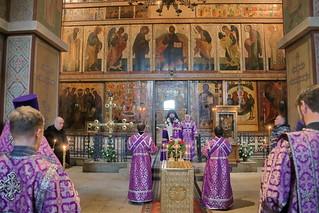 Панихида в Софийском соборе 100