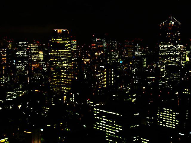 Big city night