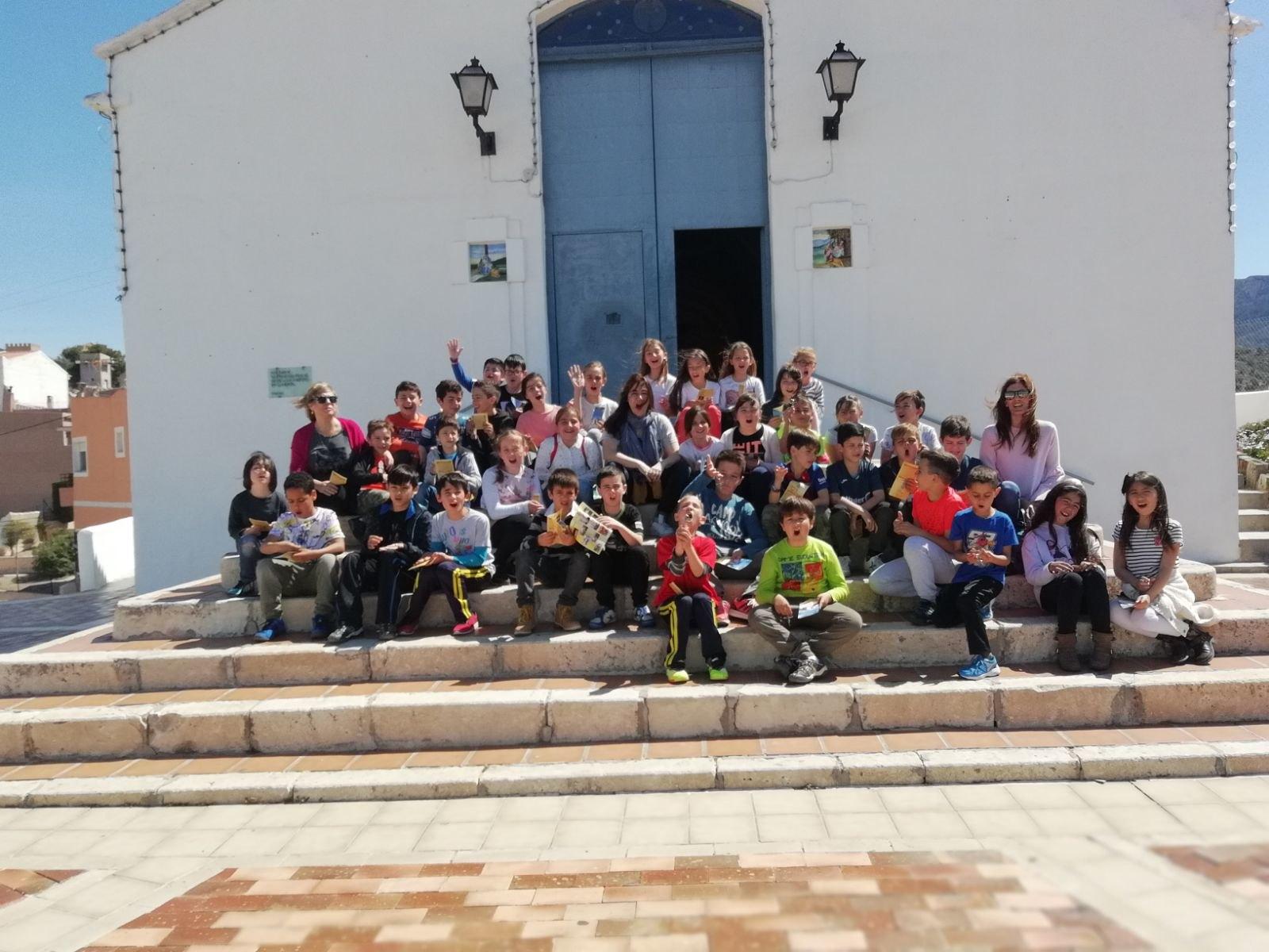 (2018-04-18) - Visita ermita alumnos Beatriz-Carmina-Lucía,3º,La Foia - María Isabel Berenguer Brotons - (07)