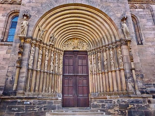 Fürsten-Tor im Bamberger Dom
