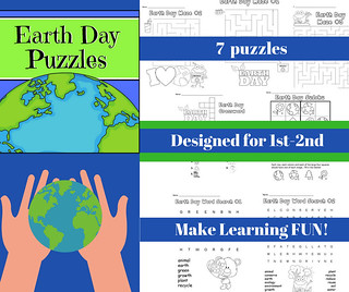 Earth Day Puzzles   by CHSH-Teach