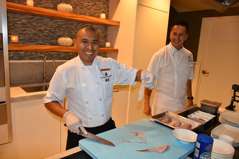03-27-18  Photos Ritz Cooking Studio Lionfish  19