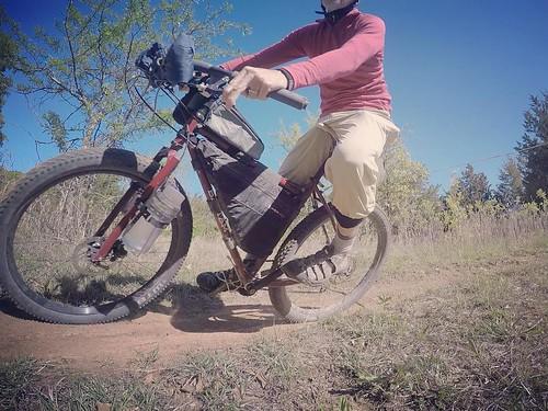 Touring bikes and hairpin turns, no problem . #bantambicycles