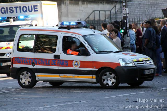 Protection Civile | Citroën Berlingo