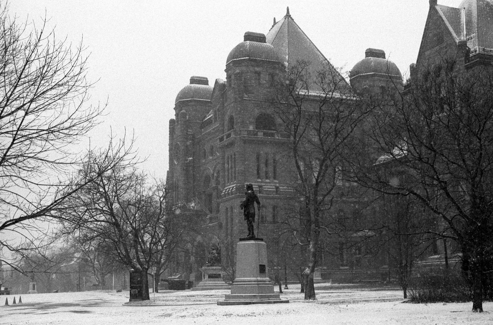 Legislature in Winter