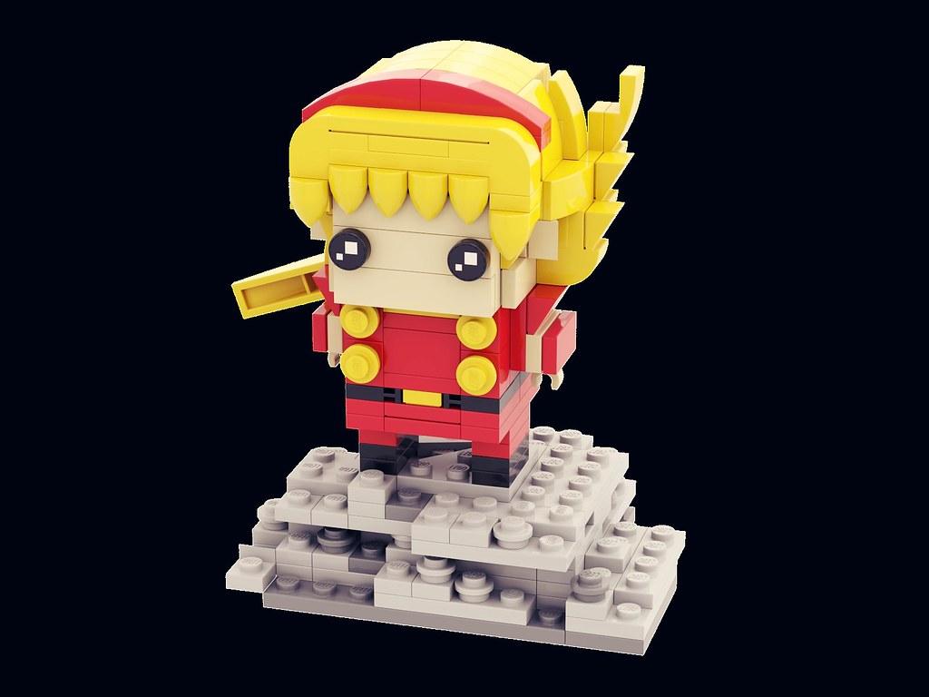 再造人003 Brickheadz 出賣年齡系列 Cyborg003 Francoisearnoul