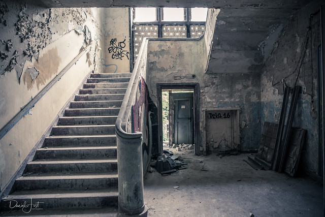 The Old Stairs...