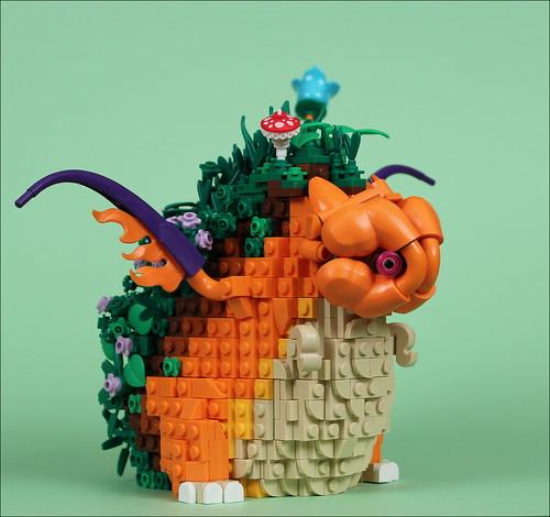5 Garden dragon