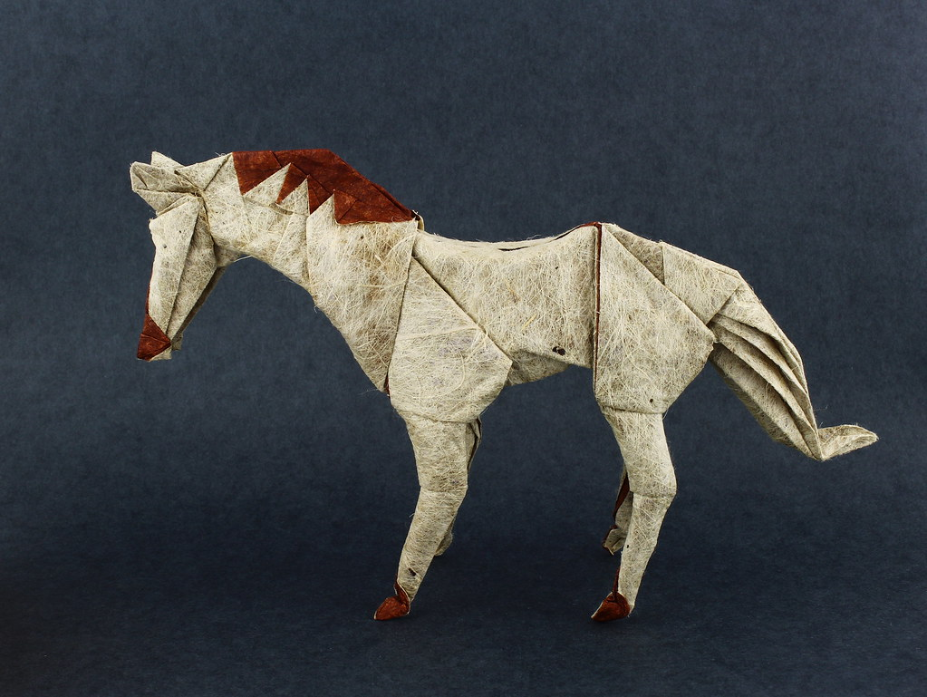 Horse designed and folded byme