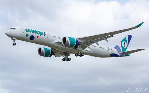 Airbus A350 Evelop Air EC-NBO | by French_Painter