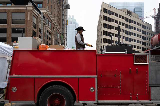 TX Tacos Made On a Firetruck