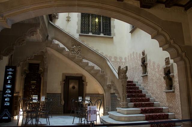 Casa Ametller, (Arquitecte: Puig i Cadafalch, 1898-1900). Modernisme, Barcelona.
