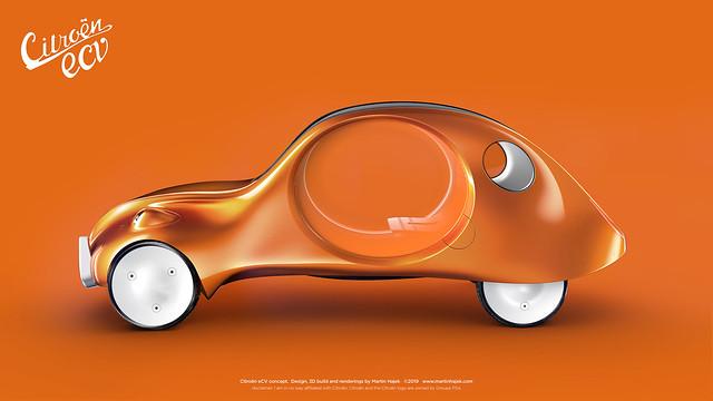 Citroën eCV concept