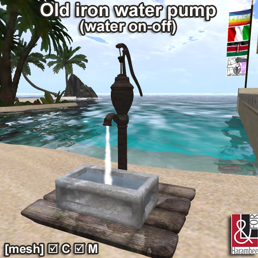 Old Water Pump (water on-off)