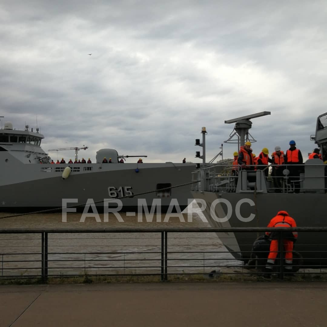 Royal Moroccan Navy Sigma class frigates / Frégates marocaines multimissions Sigma - Page 25 32598532267_2cb423568a_o