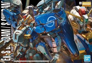 【更新盒繪&試作品圖】色彩、造型大翻新!MG 1/100《鋼彈前哨戰》Ex-S鋼彈/S鋼彈(Ex-Sガンダム/Sガンダム) Ver. 1.5