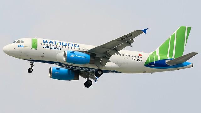 Airbus A319-132 || Bamboo Airways || VN-A581
