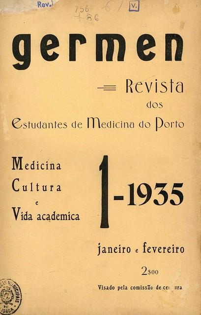 Capa de revista antiga   portuguese old magazine cover   1935
