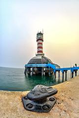 One Fathom Bank Lighthouse