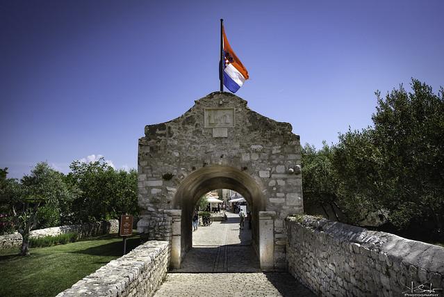 Port to the village Nin - Croatia