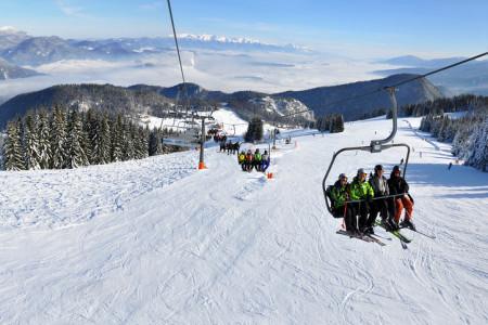 Malinô Brdo: lyžařský balkón Velké Fatry dostupný vlakem