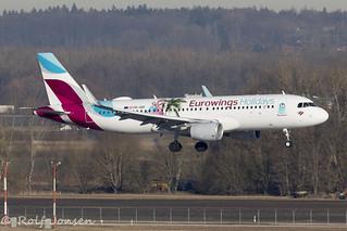 OE-IQD Airbus A320 Eurowings Munich airport EDDM 18.02-19 | by rjonsen