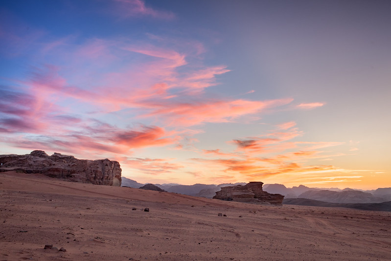 Sunset at Wadi Rum (HDR)