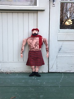 Big Man, Red Kilt | by Mimi K