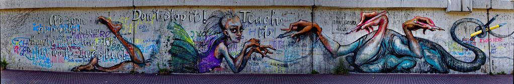 Streetart in Bad Vilbel 2011
