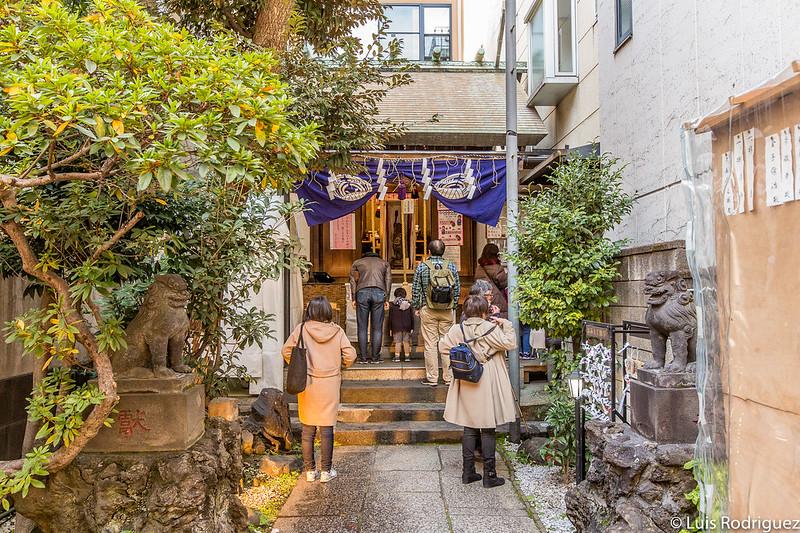 Santuario Suehiro en Año Nuevo