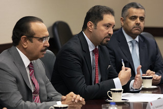 Bahrain delegation meeting with high level DHS officials