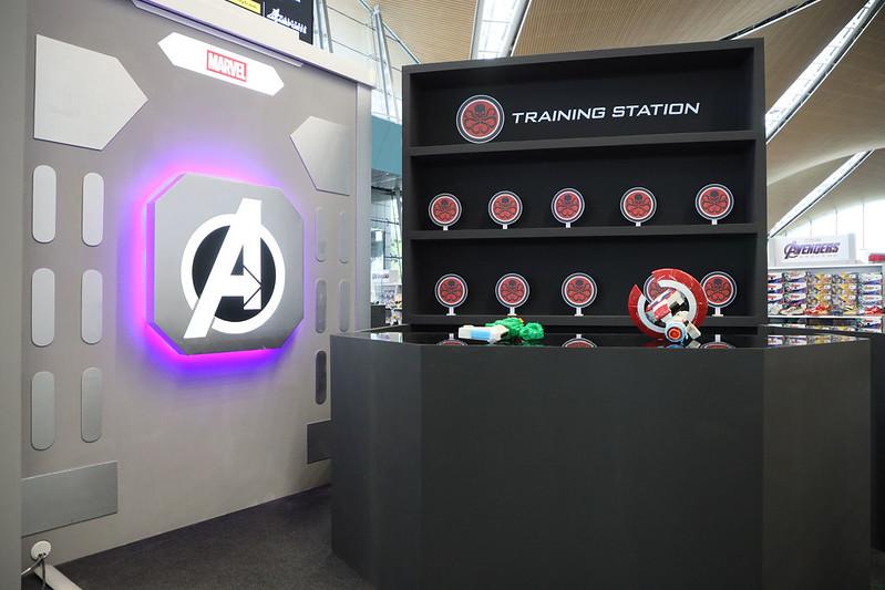 Setup 3 - Ironman Training Station