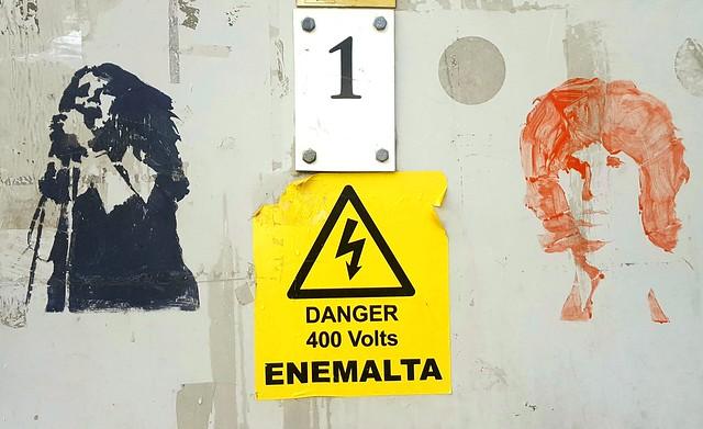 Danger Stencils